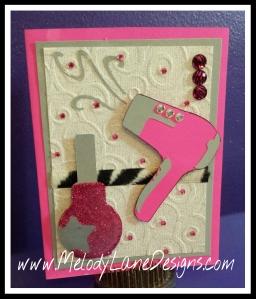 Congratulations Card for Beauty School | CricutDIVA Design ...