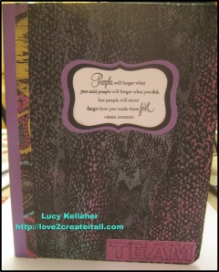 2013 - August 16 - Altered Notebook - Pic 1